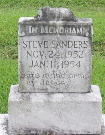 SANDERS, STEVE - St. Charles County, Louisiana | STEVE SANDERS - Louisiana Gravestone Photos