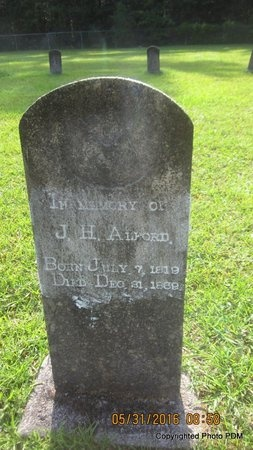 ALFORD, JULIUS HARMON - St. Helena County, Louisiana | JULIUS HARMON ALFORD - Louisiana Gravestone Photos
