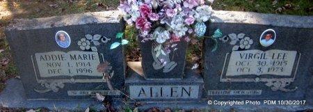 ALLEN, ADDIE MARIE - St. Helena County, Louisiana | ADDIE MARIE ALLEN - Louisiana Gravestone Photos
