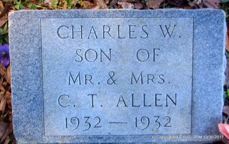 ALLEN, CHARLES W - St. Helena County, Louisiana   CHARLES W ALLEN - Louisiana Gravestone Photos