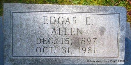 ALLEN, EDGAR E - St. Helena County, Louisiana | EDGAR E ALLEN - Louisiana Gravestone Photos