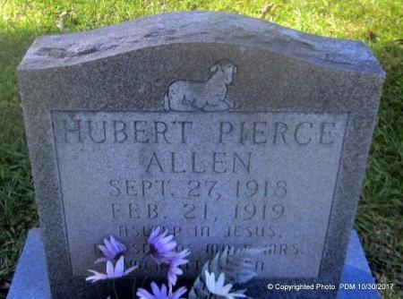 ALLEN, HUBERT PIERCE - St. Helena County, Louisiana | HUBERT PIERCE ALLEN - Louisiana Gravestone Photos