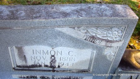 ALLEN, INMON COOPER  (CLOSEUP) - St. Helena County, Louisiana | INMON COOPER  (CLOSEUP) ALLEN - Louisiana Gravestone Photos