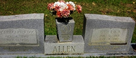 ALLEN, EFFIE RAY - St. Helena County, Louisiana | EFFIE RAY ALLEN - Louisiana Gravestone Photos