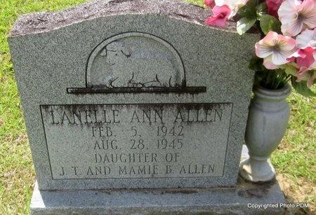 ALLEN, LANELLE ANN - St. Helena County, Louisiana   LANELLE ANN ALLEN - Louisiana Gravestone Photos
