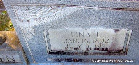 ALLEN, LINA (CLOSEUP) - St. Helena County, Louisiana | LINA (CLOSEUP) ALLEN - Louisiana Gravestone Photos