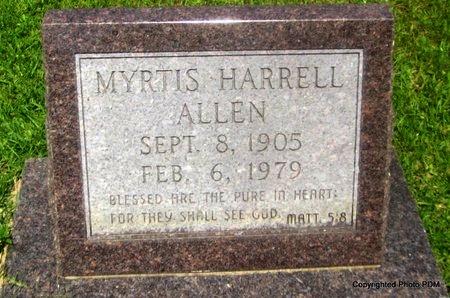 ALLEN, MYRTIS - St. Helena County, Louisiana | MYRTIS ALLEN - Louisiana Gravestone Photos
