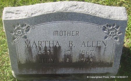 ALLEN, MARTHA   - St. Helena County, Louisiana | MARTHA   ALLEN - Louisiana Gravestone Photos