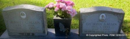 "ALLEN, IDA ROBERTA ""BERTA"" - St. Helena County, Louisiana | IDA ROBERTA ""BERTA"" ALLEN - Louisiana Gravestone Photos"