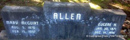 ALLEN, MARY - St. Helena County, Louisiana | MARY ALLEN - Louisiana Gravestone Photos