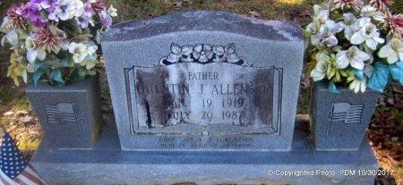 ALLEN, QUENTIN J - St. Helena County, Louisiana | QUENTIN J ALLEN - Louisiana Gravestone Photos