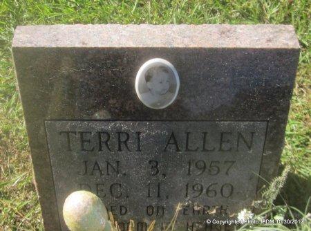 ALLEN, TERRI - St. Helena County, Louisiana | TERRI ALLEN - Louisiana Gravestone Photos