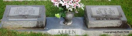 "ALLEN, VELMA LOUISE  ""TINY"" - St. Helena County, Louisiana | VELMA LOUISE  ""TINY"" ALLEN - Louisiana Gravestone Photos"