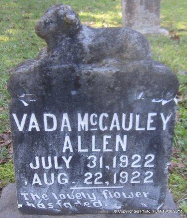ALLEN, VADA MCCAULEY - St. Helena County, Louisiana   VADA MCCAULEY ALLEN - Louisiana Gravestone Photos