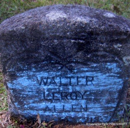 ALLEN, WALTER LEROY - St. Helena County, Louisiana | WALTER LEROY ALLEN - Louisiana Gravestone Photos