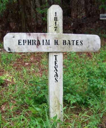 BATES, EPHRAIM H - St. Helena County, Louisiana | EPHRAIM H BATES - Louisiana Gravestone Photos