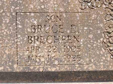 BRECHEEN, BRUCE E (CLOSE UP) - St. Helena County, Louisiana | BRUCE E (CLOSE UP) BRECHEEN - Louisiana Gravestone Photos