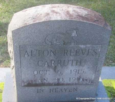 CARRUTH, ALTON REEVES - St. Helena County, Louisiana | ALTON REEVES CARRUTH - Louisiana Gravestone Photos