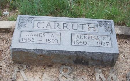 CARRUTH, AURELIA CECELIA - St. Helena County, Louisiana | AURELIA CECELIA CARRUTH - Louisiana Gravestone Photos