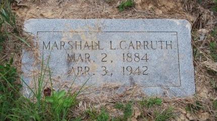 CARRUTH, MARSHALL LANIS - St. Helena County, Louisiana | MARSHALL LANIS CARRUTH - Louisiana Gravestone Photos