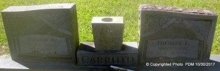 CARRUTH, THOMAS E - St. Helena County, Louisiana   THOMAS E CARRUTH - Louisiana Gravestone Photos