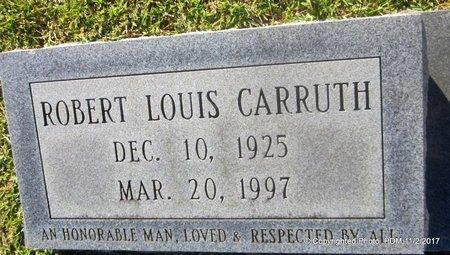 CARRUTH, ROBERT LOUIS - St. Helena County, Louisiana   ROBERT LOUIS CARRUTH - Louisiana Gravestone Photos