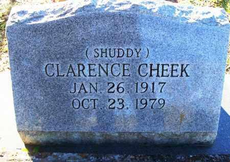 "CHEEK, CLARENCE ""SHUDDY"" - St. Helena County, Louisiana | CLARENCE ""SHUDDY"" CHEEK - Louisiana Gravestone Photos"