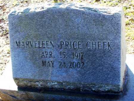 PRICE CHEEK, MARVELEEN - St. Helena County, Louisiana | MARVELEEN PRICE CHEEK - Louisiana Gravestone Photos