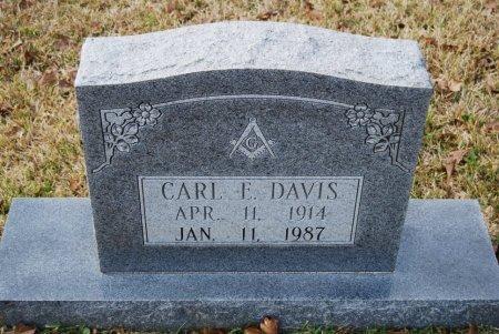 DAVIS, CARL E - St. Helena County, Louisiana | CARL E DAVIS - Louisiana Gravestone Photos