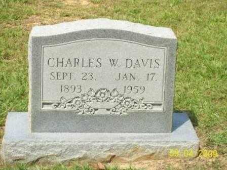 DAVIS, CHARLES W - St. Helena County, Louisiana | CHARLES W DAVIS - Louisiana Gravestone Photos