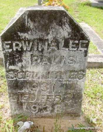 DAVIS, ERWINA LEE - St. Helena County, Louisiana | ERWINA LEE DAVIS - Louisiana Gravestone Photos