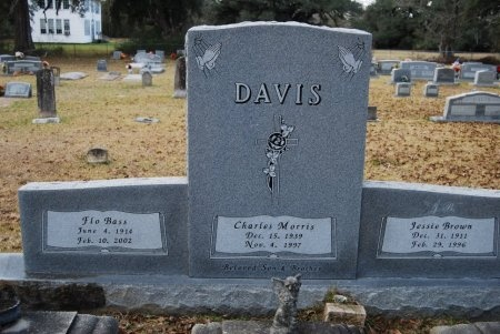 "BASS DAVIS, FLOY L ""FLO"" - St. Helena County, Louisiana | FLOY L ""FLO"" BASS DAVIS - Louisiana Gravestone Photos"