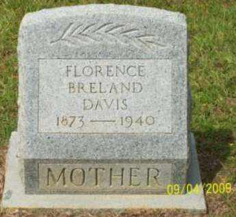 DAVIS, FLORENCE - St. Helena County, Louisiana   FLORENCE DAVIS - Louisiana Gravestone Photos