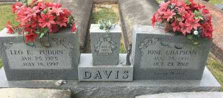 "DAVIS, LEO F ""PUDDIN"" - St. Helena County, Louisiana | LEO F ""PUDDIN"" DAVIS - Louisiana Gravestone Photos"