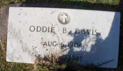 DAVIS, ODIE B - St. Helena County, Louisiana | ODIE B DAVIS - Louisiana Gravestone Photos