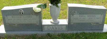 DAVIS, WILLIAM GAYDEN - St. Helena County, Louisiana | WILLIAM GAYDEN DAVIS - Louisiana Gravestone Photos