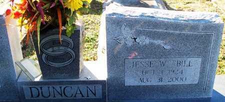 "DUNCAN, JESSE W ""BILL"" - St. Helena County, Louisiana   JESSE W ""BILL"" DUNCAN - Louisiana Gravestone Photos"