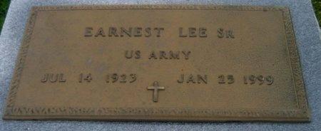 LEE, ERNEST, SR  (VETERAN) - St. Helena County, Louisiana   ERNEST, SR  (VETERAN) LEE - Louisiana Gravestone Photos
