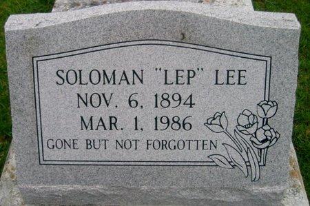 "LEE, SOLOMAN  ""LEP"" - St. Helena County, Louisiana | SOLOMAN  ""LEP"" LEE - Louisiana Gravestone Photos"