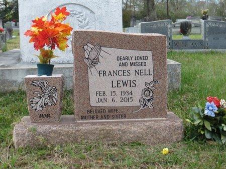 LEWIS, FRANCES NELL - St. Helena County, Louisiana | FRANCES NELL LEWIS - Louisiana Gravestone Photos
