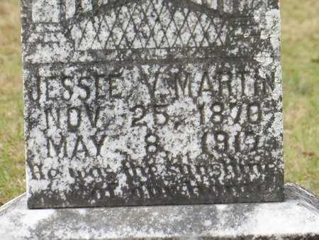 MARTIN, JESSEE V  (CLOSEUP) - St. Helena County, Louisiana | JESSEE V  (CLOSEUP) MARTIN - Louisiana Gravestone Photos