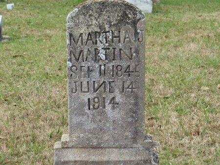 MARTIN, MARTHA J - St. Helena County, Louisiana | MARTHA J MARTIN - Louisiana Gravestone Photos