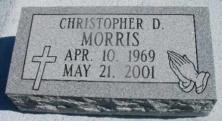 MORRIS, CHRISTOPHER D - St. Helena County, Louisiana | CHRISTOPHER D MORRIS - Louisiana Gravestone Photos