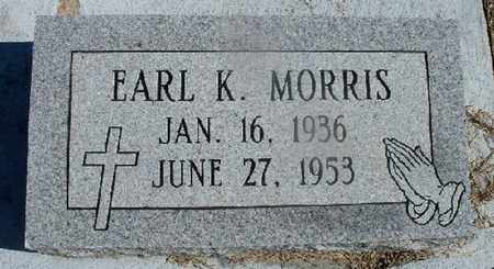 MORRIS, EARL K - St. Helena County, Louisiana | EARL K MORRIS - Louisiana Gravestone Photos