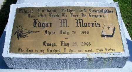 MORRIS, EDGAR M - St. Helena County, Louisiana | EDGAR M MORRIS - Louisiana Gravestone Photos