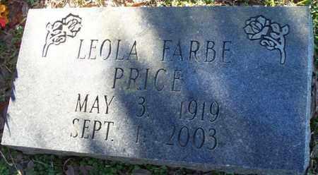FARBE PRICE, LEOLA - St. Helena County, Louisiana | LEOLA FARBE PRICE - Louisiana Gravestone Photos