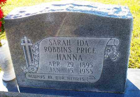 ROBBINS PRICE, SARAH IDA - St. Helena County, Louisiana   SARAH IDA ROBBINS PRICE - Louisiana Gravestone Photos