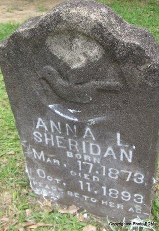 SHERIDAN, ANNA L - St. Helena County, Louisiana   ANNA L SHERIDAN - Louisiana Gravestone Photos