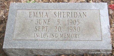 SHERIDAN, EMMA - St. Helena County, Louisiana | EMMA SHERIDAN - Louisiana Gravestone Photos