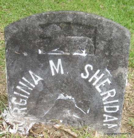 SHERIDAN, VIRGINIA M - St. Helena County, Louisiana | VIRGINIA M SHERIDAN - Louisiana Gravestone Photos